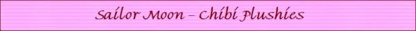 Chibi plushies