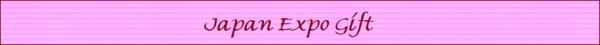 Japan expo gift