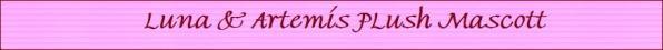 Luna artemis plush m
