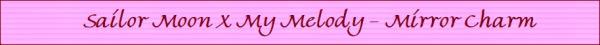 Sailor moon melody mirror